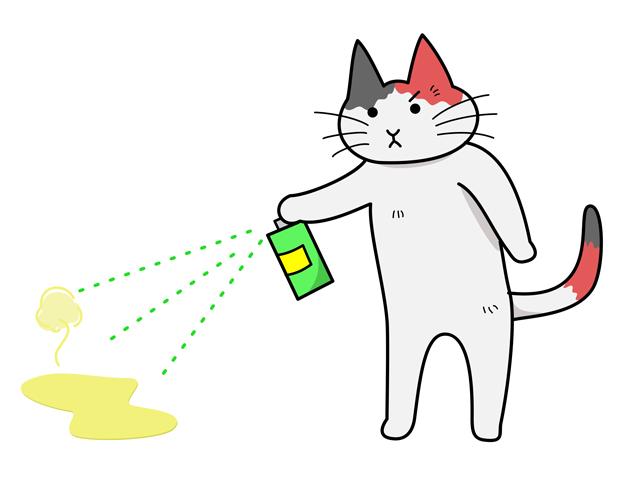 臭い対策に消臭剤の活用を